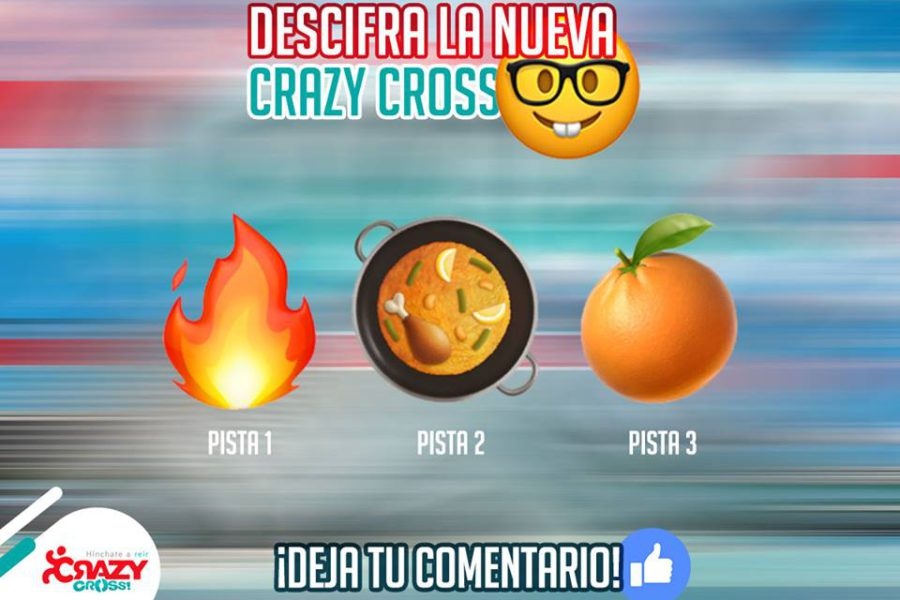 ¿Adivinas la nueva Crazy Cross 2018?